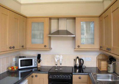 Croftside kitchen area