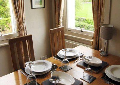 Croftside dining area