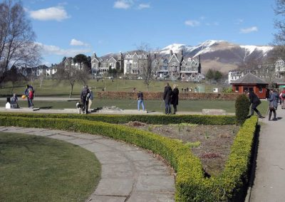 Hope Park in Keswick - and crazy golf