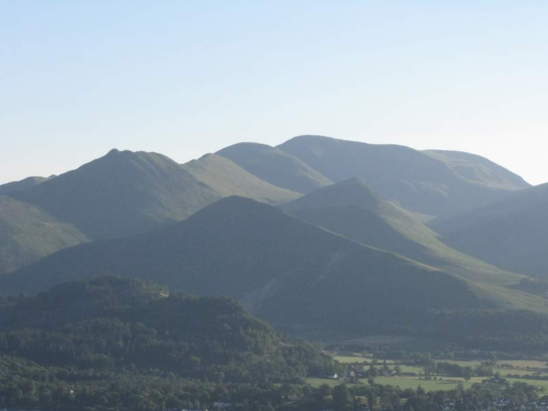 Causey Pike and the northwestern fells